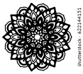 mandalas for coloring book.... | Shutterstock .eps vector #622144151