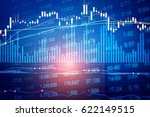 financial market is a market... | Shutterstock . vector #622149515