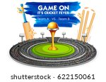 illustration of stadium of... | Shutterstock .eps vector #622150061