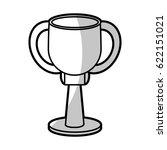 winner cup trophy prize   shadow