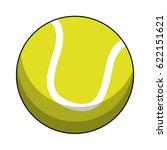 tennis ball sport image | Shutterstock .eps vector #622151621
