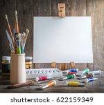 Artist's Workshop. Canvas ...