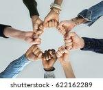 togetherness team alliance... | Shutterstock . vector #622162289