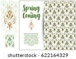 seamless pattern background....   Shutterstock .eps vector #622164329