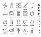 contraceptive methods line... | Shutterstock .eps vector #622172951