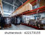 warehouse transport and freight ... | Shutterstock . vector #622173155