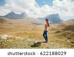 woman travel and relax in...   Shutterstock . vector #622188029
