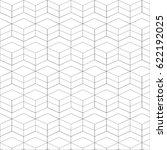 vector seamless pattern. modern ... | Shutterstock .eps vector #622192025
