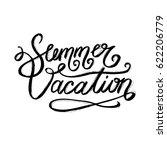brush lettering composition.... | Shutterstock .eps vector #622206779
