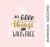 hand lettered inspirational... | Shutterstock .eps vector #622210421