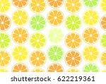 vector simple seamless pattern  ... | Shutterstock .eps vector #622219361