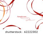 brown pattern of bands on a... | Shutterstock . vector #62222302
