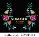 vector design for collar t... | Shutterstock .eps vector #622233161