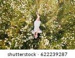 beautiful woman lying down in...   Shutterstock . vector #622239287