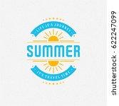 summer holidays poster design...   Shutterstock .eps vector #622247099