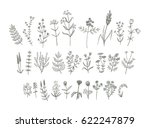 set of sketchy hand drawn... | Shutterstock .eps vector #622247879