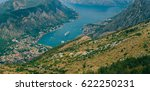 bay of kotor from the heights.... | Shutterstock . vector #622250231