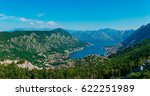 bay of kotor from the heights.... | Shutterstock . vector #622251989