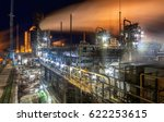 chemical plant for production... | Shutterstock . vector #622253615