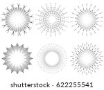 vector bursting graphic... | Shutterstock .eps vector #622255541