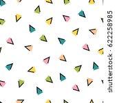 vector fashion color geometric... | Shutterstock .eps vector #622258985