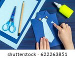 making greeting card for father'... | Shutterstock . vector #622263851