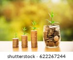 money business success growing... | Shutterstock . vector #622267244