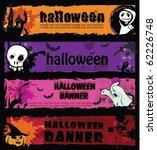 halloween banners | Shutterstock .eps vector #62226748