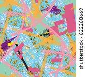 modern art.vector abstract... | Shutterstock .eps vector #622268669