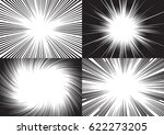 four templates for comic... | Shutterstock .eps vector #622273205