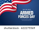 armed forces day template... | Shutterstock .eps vector #622275569