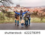 back view of group of people...   Shutterstock . vector #622278395