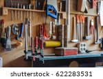 Organized Wall Of Tools And...