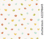 seamless pattern with... | Shutterstock .eps vector #622298645