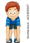 illustration of a little boy... | Shutterstock .eps vector #622305047