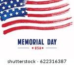 happy memorial day | Shutterstock .eps vector #622316387