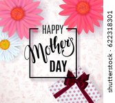 mother's day background with... | Shutterstock .eps vector #622318301