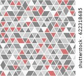 geometric vector pattern with... | Shutterstock .eps vector #622318685