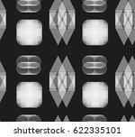 geometrical linear pattern | Shutterstock .eps vector #622335101