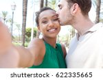 young joyful ethnically diverse ... | Shutterstock . vector #622335665