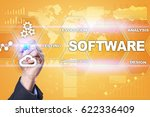 software development. data... | Shutterstock . vector #622336409