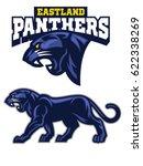 black panther mascot   Shutterstock .eps vector #622338269