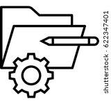 product development vector icon | Shutterstock .eps vector #622347401