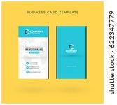 modern creative vertical double ... | Shutterstock .eps vector #622347779