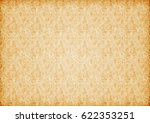 paper vintage old background... | Shutterstock . vector #622353251