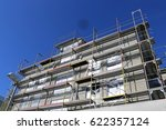 construction site of a new... | Shutterstock . vector #622357124