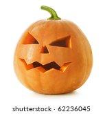 halloween pumpkin.scary jack o... | Shutterstock . vector #62236045