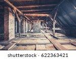 Old Garret  Attic Loft   Roof...