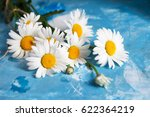 summer floral card with... | Shutterstock . vector #622364219