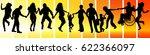 vector illustration group of... | Shutterstock .eps vector #622366097